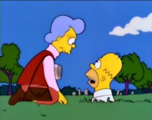 The Simpsons 07x08 : Mother Simpson- Seriesaddict